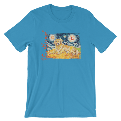 Golden Retriever STARRY NIGHT T-Shirt