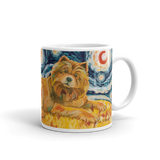 Chow (light) STARRY NIGHT Mug-15oz