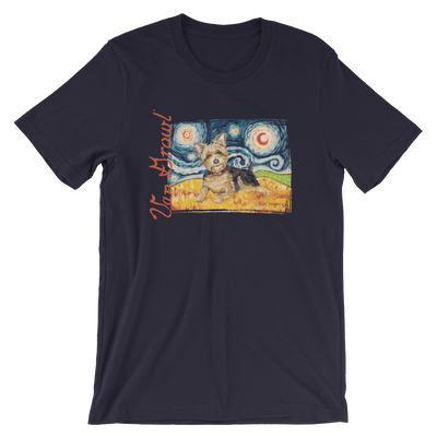 Yorkie STARRY NIGHT T-Shirt