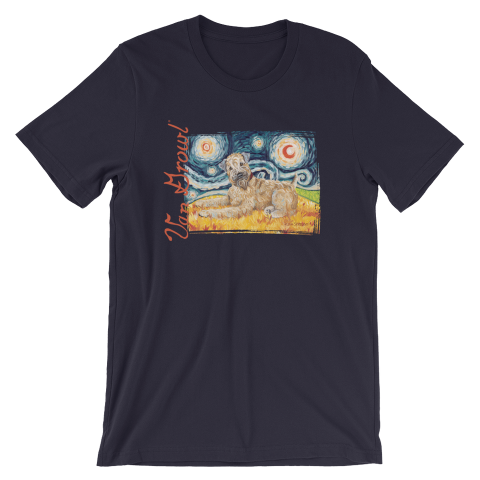 Wheaten Terrier  STARRY NIGHT T-Shirt