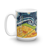 Siberian Husky STARRY NIGHT Mug-15oz