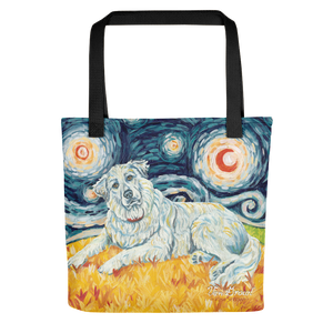 Great Pyrenees STARRY NIGHT Tote