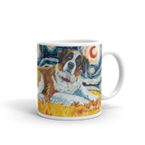 Saint Bernard STARRY NIGHT Mug-15oz