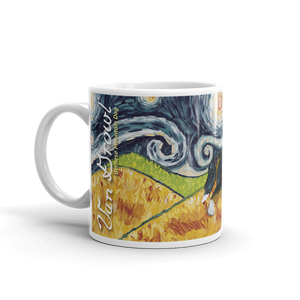 Bernese Mountain Dog  STARRY NIGHT Mug-15oz