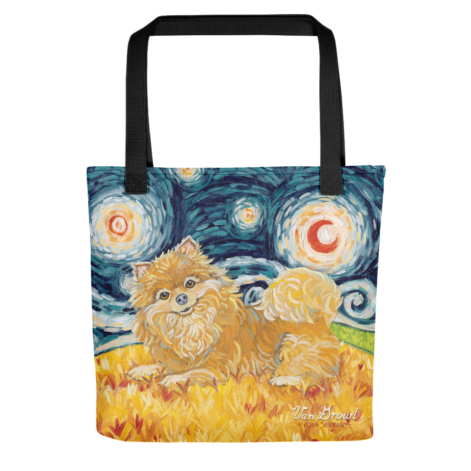 Pomeranian STARRY NIGHT Tote