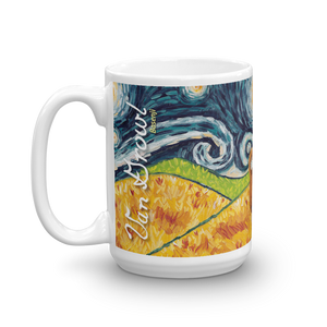 Basenji  STARRY NIGHT Mug-15oz