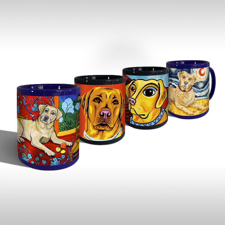 LABRADOR (YELLOW) — MUG ART GIFT SET