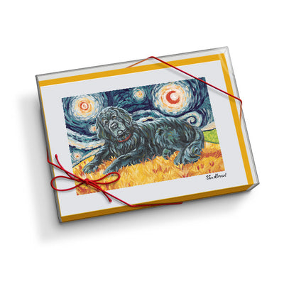 Newfoundland Starry Night Notecard Set