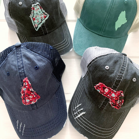 State pride patch hats by Gracie Designs