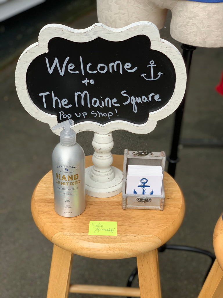 The Maine Square Pop Up Shop
