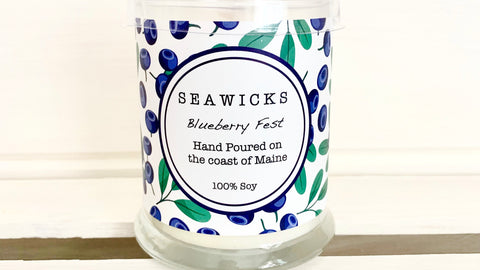 Seawicks Blueberry Fest Soy Candle