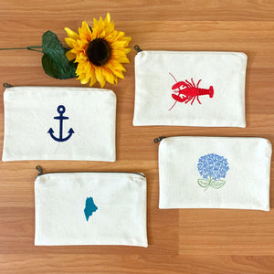 The Down East Cosmetic Bag Collection