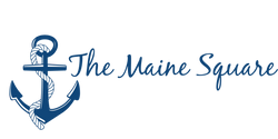 The Maine Square anchor logo
