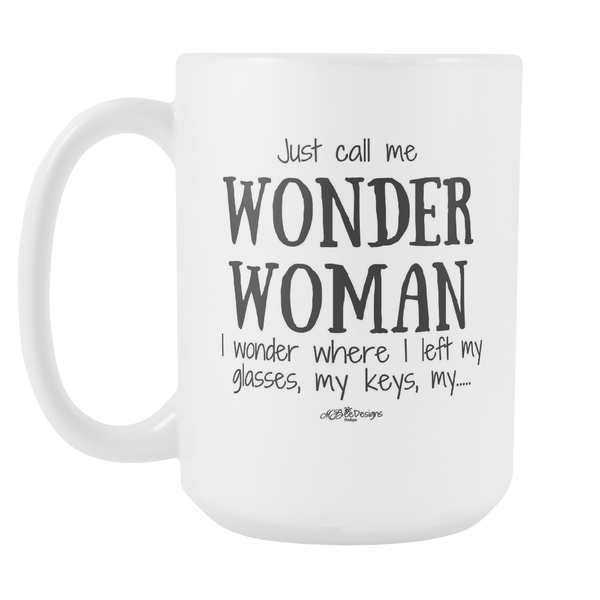 Wonder Woman Mug 15 oz.