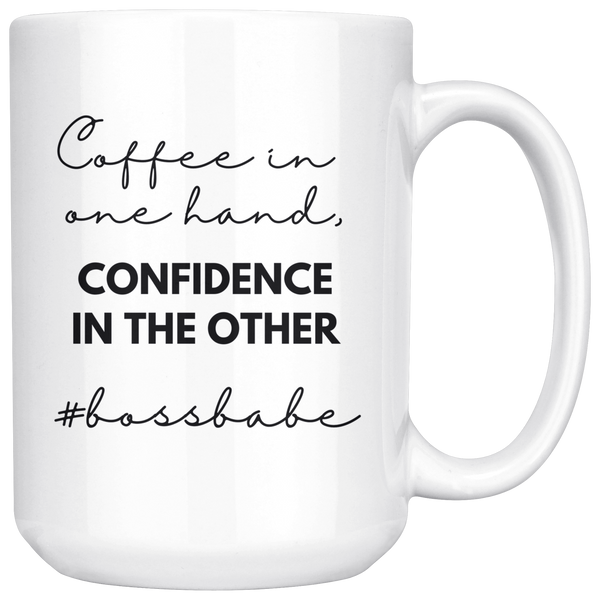 Boss Babe Coffee & Confidence Mug