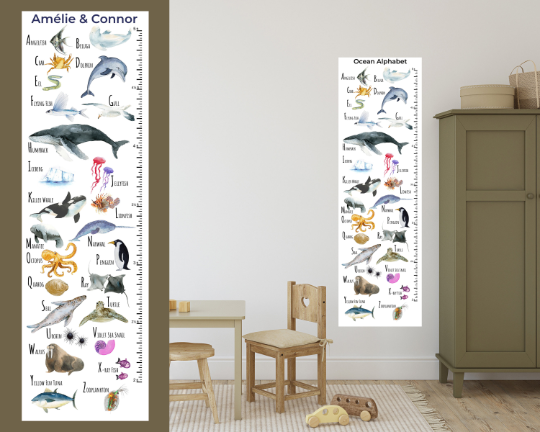 Growth Charts & Birthday Banners