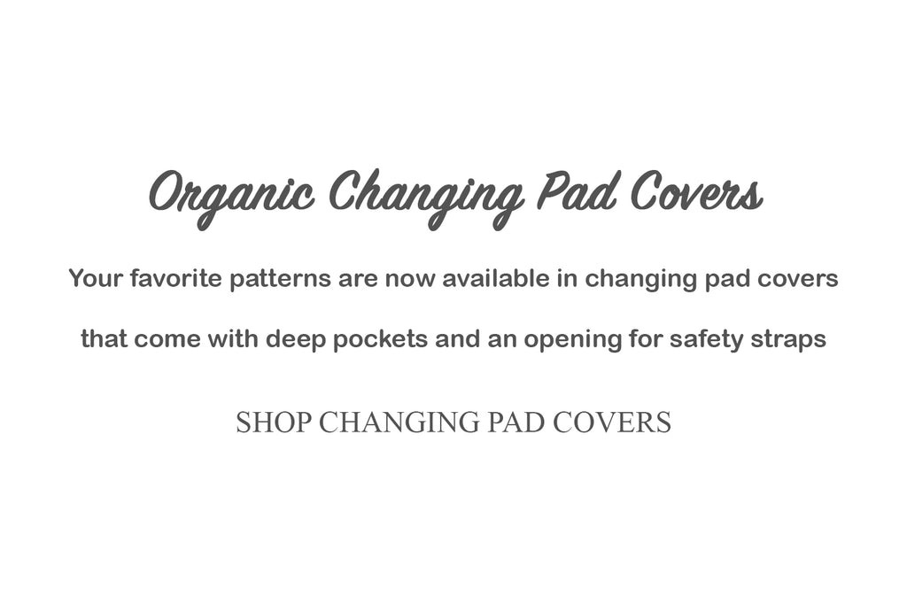 Dera Design Organic Changing Pad Covers