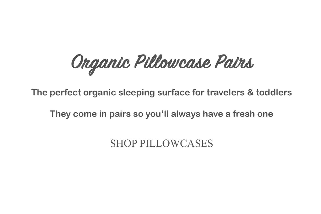 Dera Design Organic Pillowcase Pairs