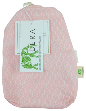 Changing Pad Cover in GOTS-Certified Organic Cotton – GeoLeaf Pink