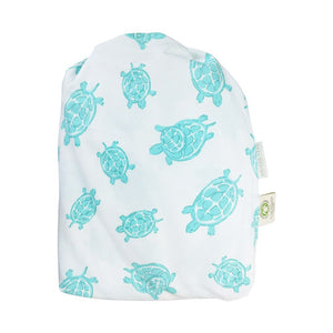 Reusable Bag for Aqua Turtle Fitted Crib Sheet – GOTS-Certified Organic Cotton