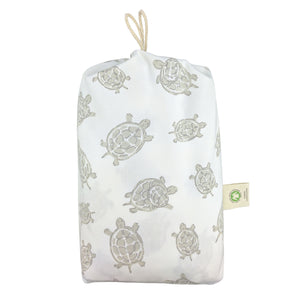 Grey Turtle Fitted Crib Sheet – GOTS-Certified Organic Cotton