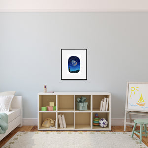 playroom bird print