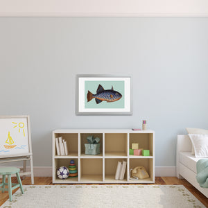 fish playroom artwork