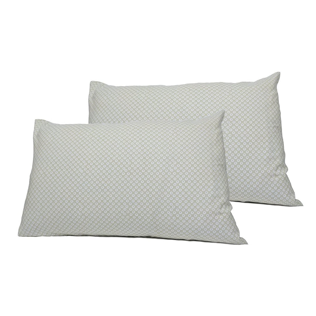 Shibori Print Pillowcase Pair - GOTS Certified