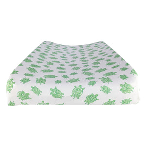 Changing Pad Cover in GOTS-Certified Organic Cotton – Turtle Green