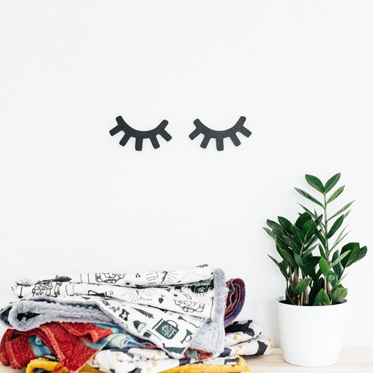 Eyelashes Wall Art