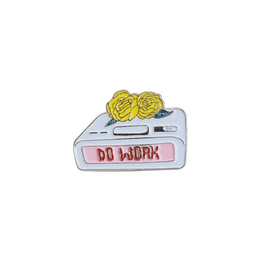 Do Work Lapel Pin