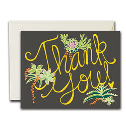 Thank You Succulents Set Of 8