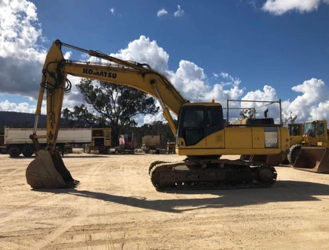 Komatsu PC300-7 PC300LC-7 Hydraulic Excavator Official Workshop Service Manual