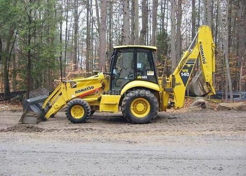 Komatsu WB140PS-2N WB150PS-2N Backhoe Loader Official Workshop Service Manual