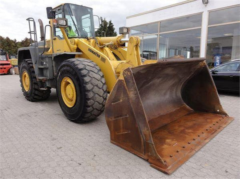 Komatsu avance WA470-3 Wheel Loader Official Workshop Service Repair Manual