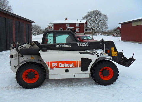 Bobcat T2250 Telescopic handler Workshop Service Manual All Serials