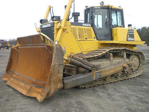 Komatsu D155AX-6 Bulldozer Official Workshop Service Repair Technical Manual