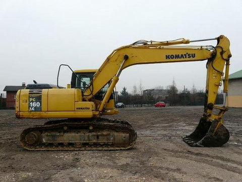 Komatsu PC160LC-7K PC180LC-7K Hydraulic Excavator Official Workshop Service Manual