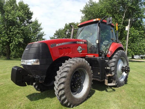 Case IH Magnum 180 200 Continuously Variable Transmission (CVT) Tractors Official Workshop Service Repair Manual