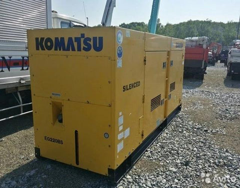 Komatsu EG Series EG220BS-2 EG220B-2 EG220-2 Engine Generator Official Service Manual