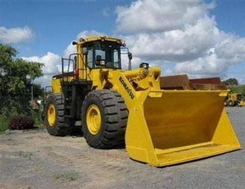 Komatsu WA600-3 Wheel Loader Official Field Assembly Manual
