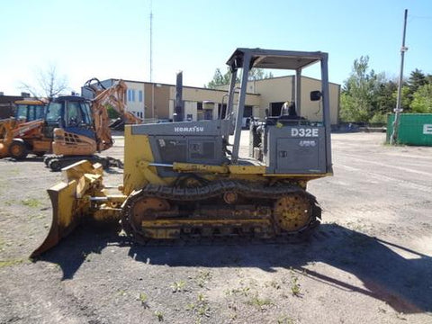 Komatsu D32E-1A D32P-1A D38E-1A D38EP-1A Crawler Tractor Official Workshop Service Manual