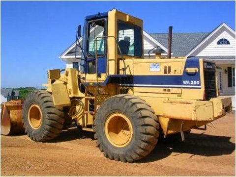 Komatsu WA250-1LC Wheel Loader Official Workshop Service Repair Technical Manual
