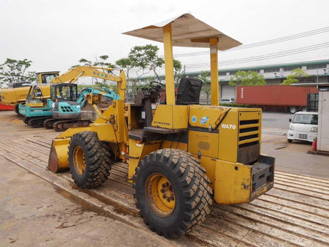 Komatsu WA70-1 Wheel Loader Official Workshop Service Repair Manual