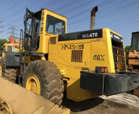 Komatsu WA470-3 Wheel Loader Official Workshop Service Repair Technical Manual