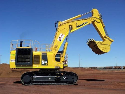 Komatsu PC1250-8 PC1250LC-8 Hydraulic Excavator Official Field Assembly Instruction Manual