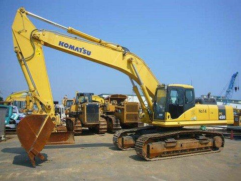 Komatsu PC450-6K PC450LC-6K Hydraulic Excavator Official Workshop Service Manual