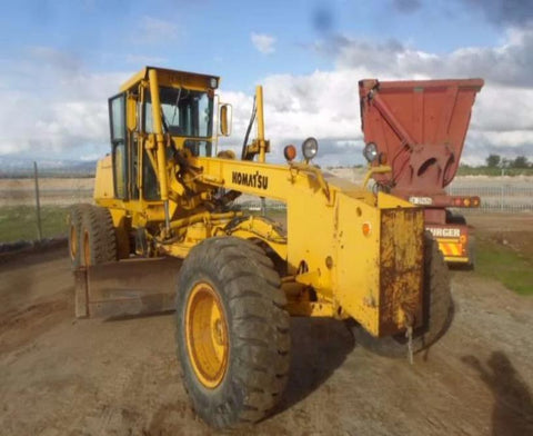 Komatsu GD650A-2BY GD650A-2CY GD650AW-2BY GD650AW-2CY Motor Grader Official Service Manual