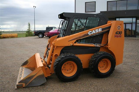 Case 430 440 Skid Steer Loader & 440CT Compact Track Loader Service Repair Manual