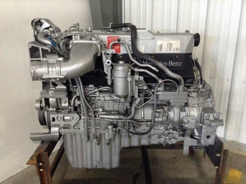 Mercedes    Detroit Diesel Mbe 4000 Epa 07 Workshop Service